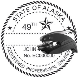 Engineer Seal - Pocket Style - Alaska