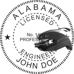 Engineer Seal - Pocket Style - Alabama