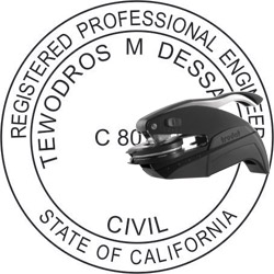 Engineer Seal - Pocket Style - California