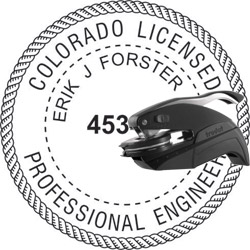 Engineer Seal - Pocket Style - Colorado