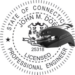 Engineer Seal - Pocket Style - Connecticut