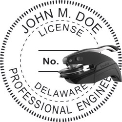 Engineer Seal - Pocket Style - Delaware