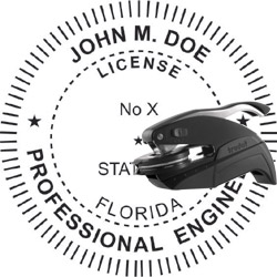 Engineer Seal - Pocket Style - Florida