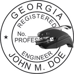 Engineer Seal - Pocket Style - Georgia