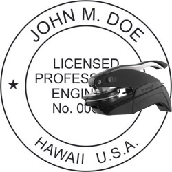 Engineer Seal - Pocket Style - Hawaii
