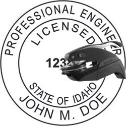 Engineer Seal - Pocket Style - Idaho