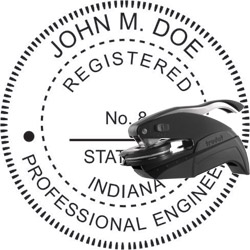 Engineer Seal - Pocket Style - Indiana