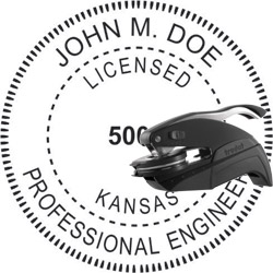 Engineer Seal - Pocket Style - Kansas