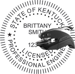 Engineer Seal - Pocket Style - Kentucky
