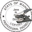 Engineer Seal - Pocket Style - Maine ENGINEER_POCKET_SEAL_MAINE