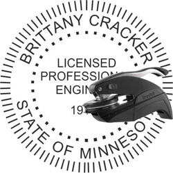 Engineer Seal - Pocket Style - Minnesota