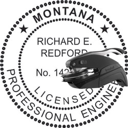 Engineer Seal - Pocket Style - Montana