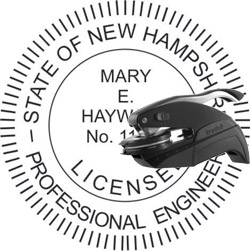 Engineer Seal - Pocket Style - New Hampshire