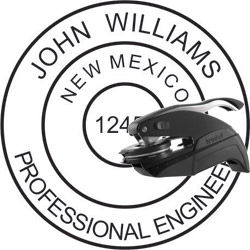 Engineer Seal - Pocket Style - New Mexico