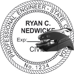 Engineer Seal - Pocket Style - Nevada
