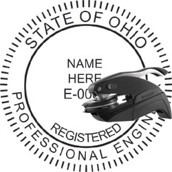 Engineer Seal - Pocket Style - Ohio