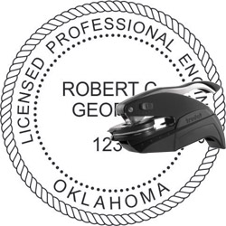 Engineer Seal - Pocket Style - Oklahoma