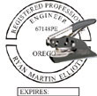 Engineer Seal - Pocket Style - Oregon ENGINEER_POCKET_SEAL_OREGON