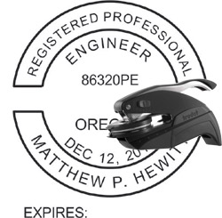 Engineer Seal - Pocket Style - Oregon