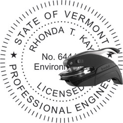 Engineer Seal - Pocket Style - Vermont