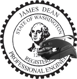 Engineer Seal - Pocket Style - Washington