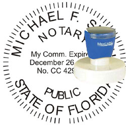 Notary Seal - Pre-Inked Stamp - Florida