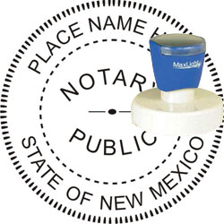Notary Seal - Pre-Inked Stamp - New Mexico
