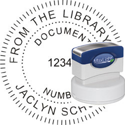 Maxlight Seal Stamp XL 655 with Your Text