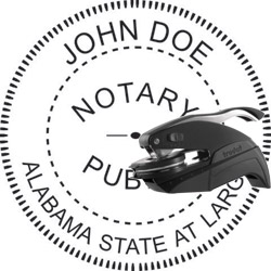 Notary Seal - Pocket Style - Alabama