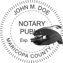 Notary Seal - Pocket Style - Arizona
