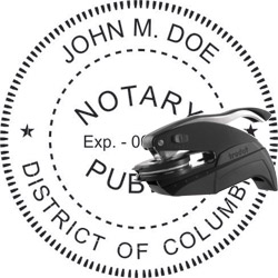 Notary Seal - Pocket Style - Dist of Columbia