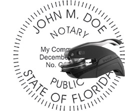 Notary Seal - Pocket Style - Florida