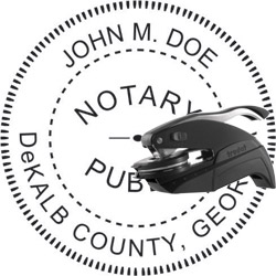 Notary Seal - Pocket Style - Georgia
