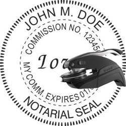 Notary Seal - Pocket Style - Iowa