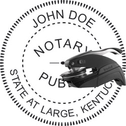 Notary Seal - Pocket Style - Kentucky