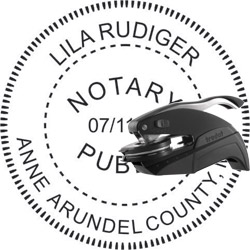 Notary Seal - Pocket Style - Maryland