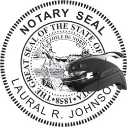 Notary Seal - Pocket Style - Minnesota