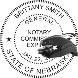 Notary Seal - Pocket Style - Nebraska