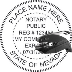 Notary Seal - Pocket Style - Nevada