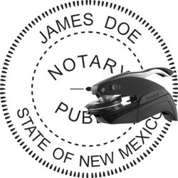 Notary Seal - Pocket Style - New Mexico