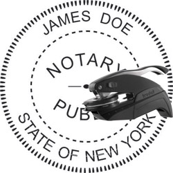 Notary Seal - Pocket Style - New York