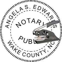 Notary Seal - Pocket Style - North Carolina