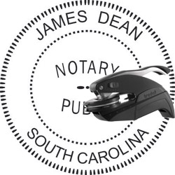 Notary Seal - Pocket Style - South Carolina