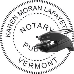 Notary Seal - Pocket Style - Vermont