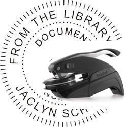 Pocket Embosser with Your Text