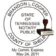 Notary Seal - Wood Stamp - Tennessee NOTARY_SEAL_TENNESSEE_WOOD_STAMP