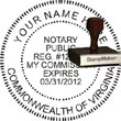 Notary Seal - Wood Stamp - Virginia NOTARY_SEAL_VIRGINIA_WOOD_STAMP