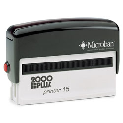2000 Plus Printer 15 Self Inking Stamp