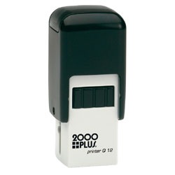 2000 Plus Printer Q12 Self Inking Stamp