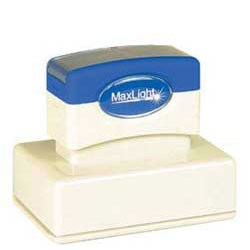 Maxlight XL 165 Pre Inked Rubber Stamp
